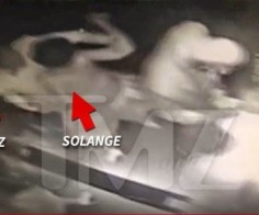 Video Footage of Solange Attacking Jay Z