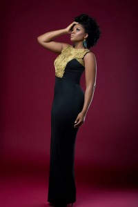 Omotola Jalade Ekeinde Dazzels In Gold As She Covers New African Woman Magazine
