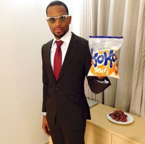 Checkout D'banj's New Product – Koko Garri!